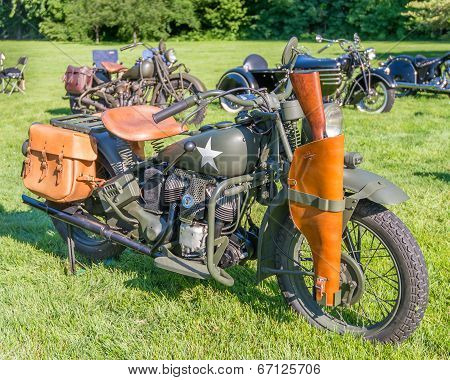 1943 Indian Model 741 Military
