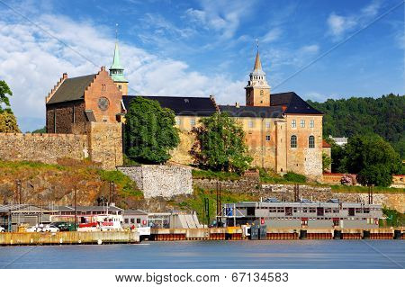 Oslo - Akershus Fortress, Norway