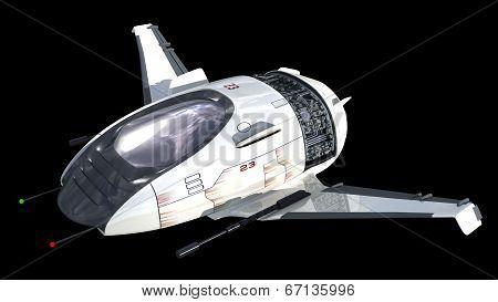 Drone design for sci-fi alien war spacecrafts