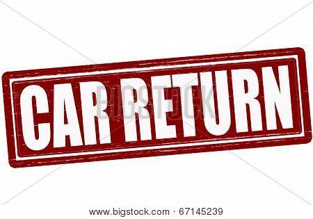 Car Return