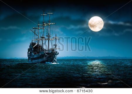 Flying Dutchman - Sailing Ship