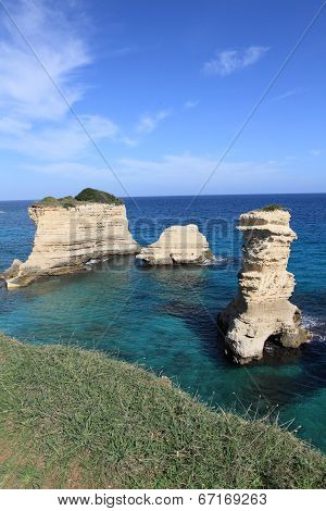 beautiful Mediterranean landscape of Apulia