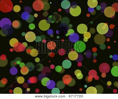 Abstract Lights Summary Effects Backgrounds With Digital Work