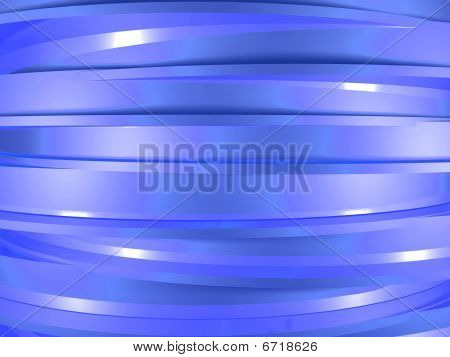 Blue cylinders