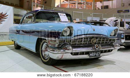 Blue Packard Executive 1956 Classic Car