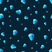 Brilliant background. Diamond dust texture.Vector illustration eps10. poster