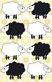 sheep background poster