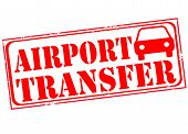 airport transfer grunge stamp wth on vector illustration poster