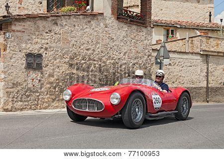 Maserati A6 Gcs/53 Fantuzzi (1953) In Mille Miglia 2014
