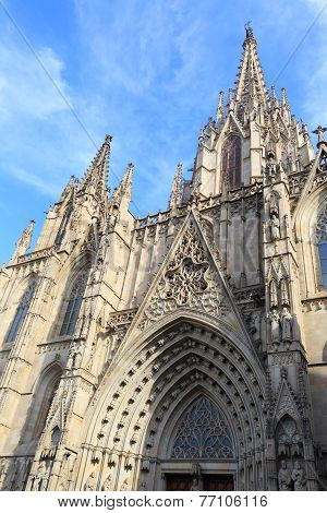 Barcelona Cathedral Detail
