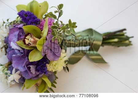 Bouquet With Orchid.