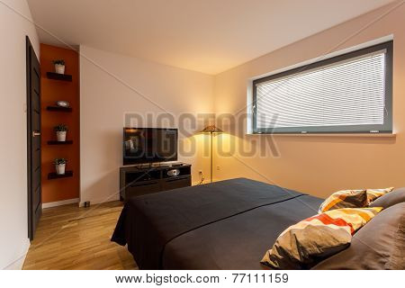 Small And Cozy Bedroom