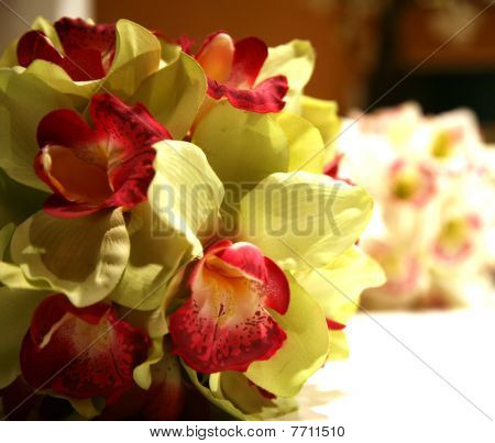 Orchid decoration