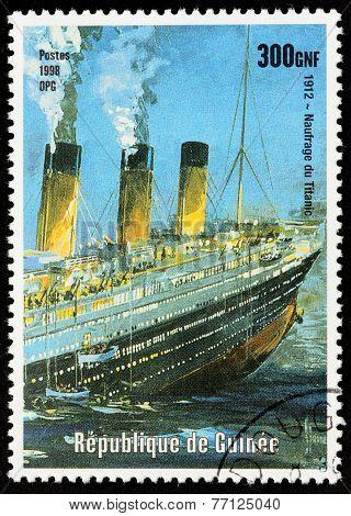 Titanic Stamp