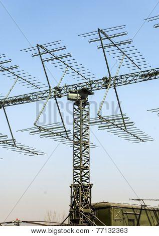 Millitary Radar Antenna