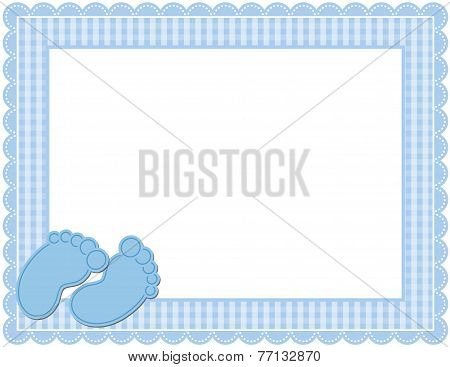Baby Gingham Frame