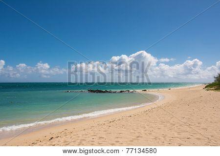 Kahana beach in Maui, Hawaii