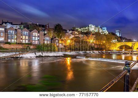 Night Durham Cathedral River Wear.jpg