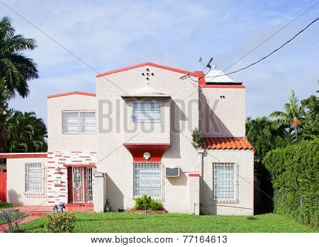 Stock photo of a single family house