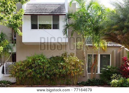 Stock photo of a single family house