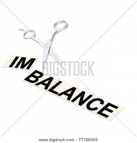 Scissor Cut Imbalance