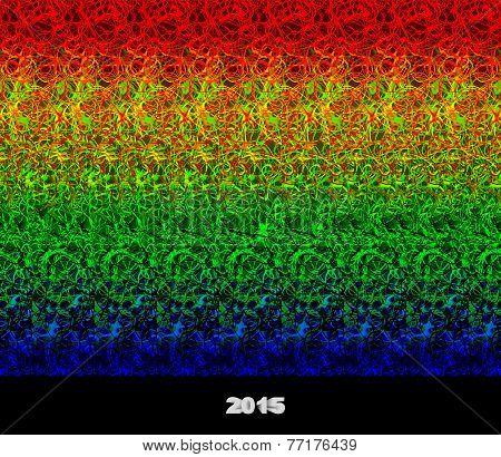 2015 - stereogram (autostereogram)