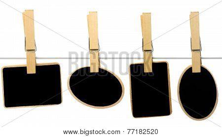 Blank Slate For Miniature Little Message