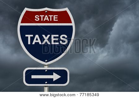 State Taxes This Way