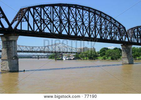 Three Bridges Over Ohio River
