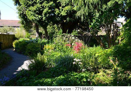 Riverside gardens, Bakewell