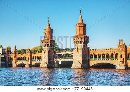 Oberbaum Bridge In Berlin