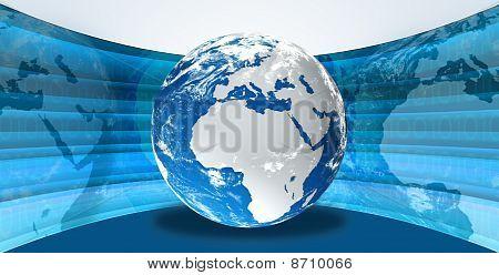 Earth digital illustration