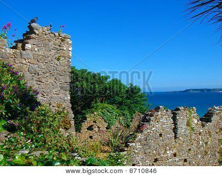Castle Garden Seascape