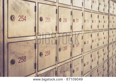 Post Box With Number