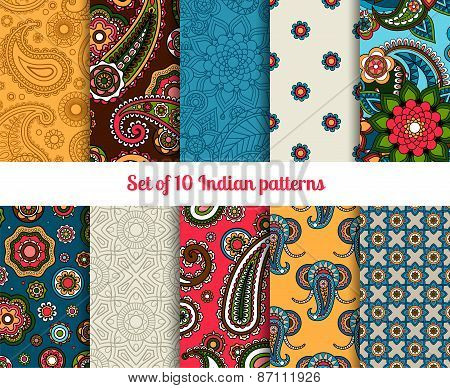 Indian pattern set