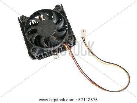 The Cooling Fan With Heatsink