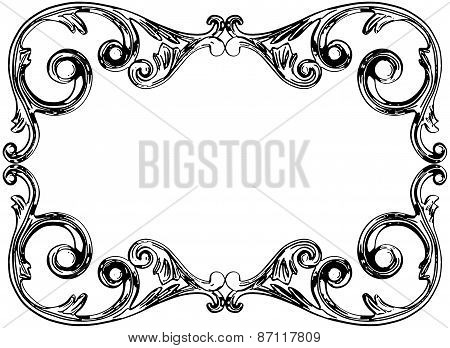 Monochrome Engraving