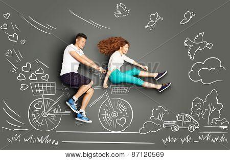 Biking To The Future.