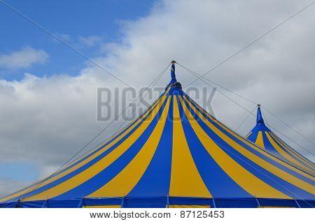 Circus big top tent.