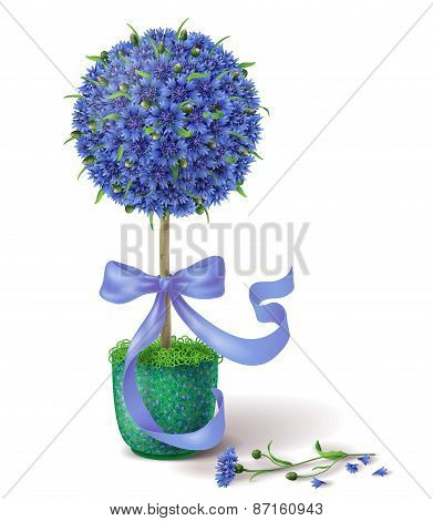 Summer Flower Topiary