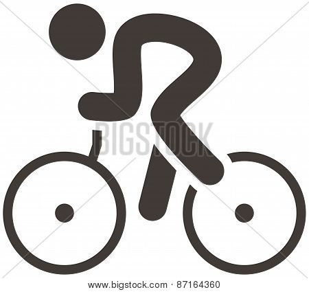 Cycling Road Icon