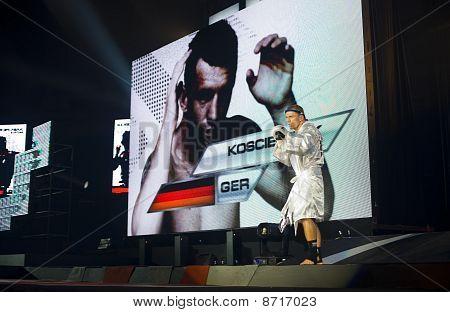 German Thaiboxing World Champion Bartosz Koscielniak