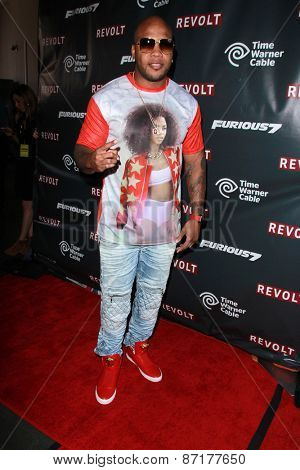 LOS ANGELES - APR 1:  Flo Rida at the Live Perfomances from
