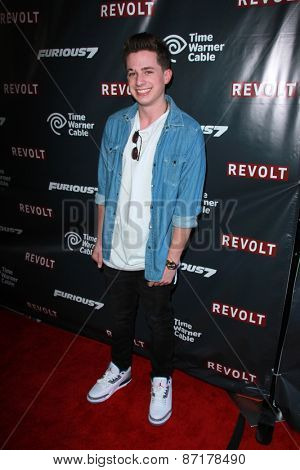 LOS ANGELES - APR 1:  Charlie Puth at the Live Perfomances from