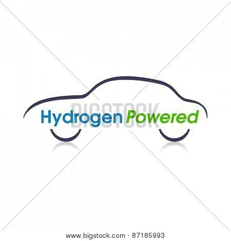 Abstract Hydrogen Powered car design.