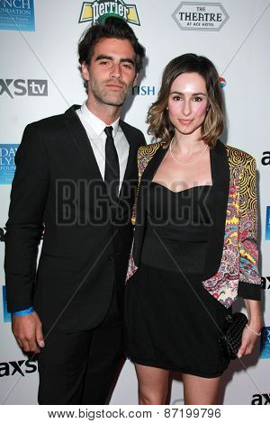 LOS ANGELES - APR 1:  Kid Moxie at the The Music Of David Lynch at the Ace Hotel on April 1, 2015 in Los Angeles, CA