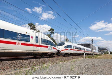 German High-speed Train Ice