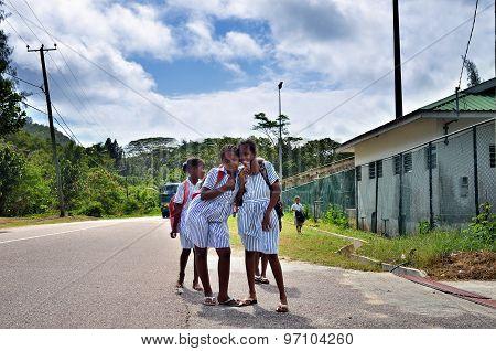 Young Schoolgirls