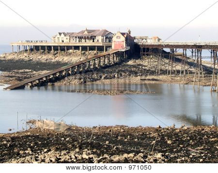 Side View Birnbeck Pier