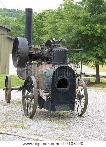 Vintage Portable Frick Steam Engine